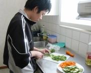 Hoa i matlagningstagen