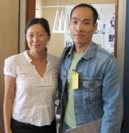 Tove och Thanh 14 aug 2007