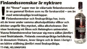 finlandssvenskar