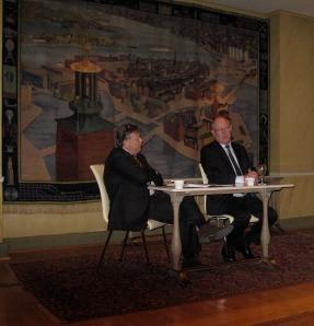 "Peter ""Poker"" wallenberg och Peter Egardt, Stockholms Handelskammare"
