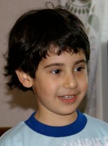 Arvin, porträtt. 25.5 2009