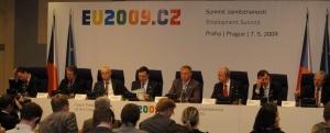Presskonf med de EU-ledare
