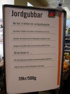 Om jordgubbar 1