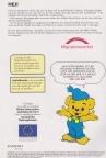 Informationssida ur MIGs Bamsetidning