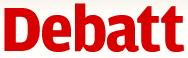 SVT Debatt logo röd