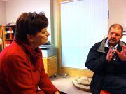 Virpi Johansson och Pentti Virtanen 25.11 2012
