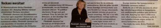 Expressen moraltant 24.2 2013