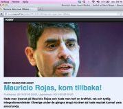 Mauricio Rojas, kom tillbaka! Newsmill 29.5 2013