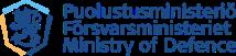 Puolustusministeriö logo