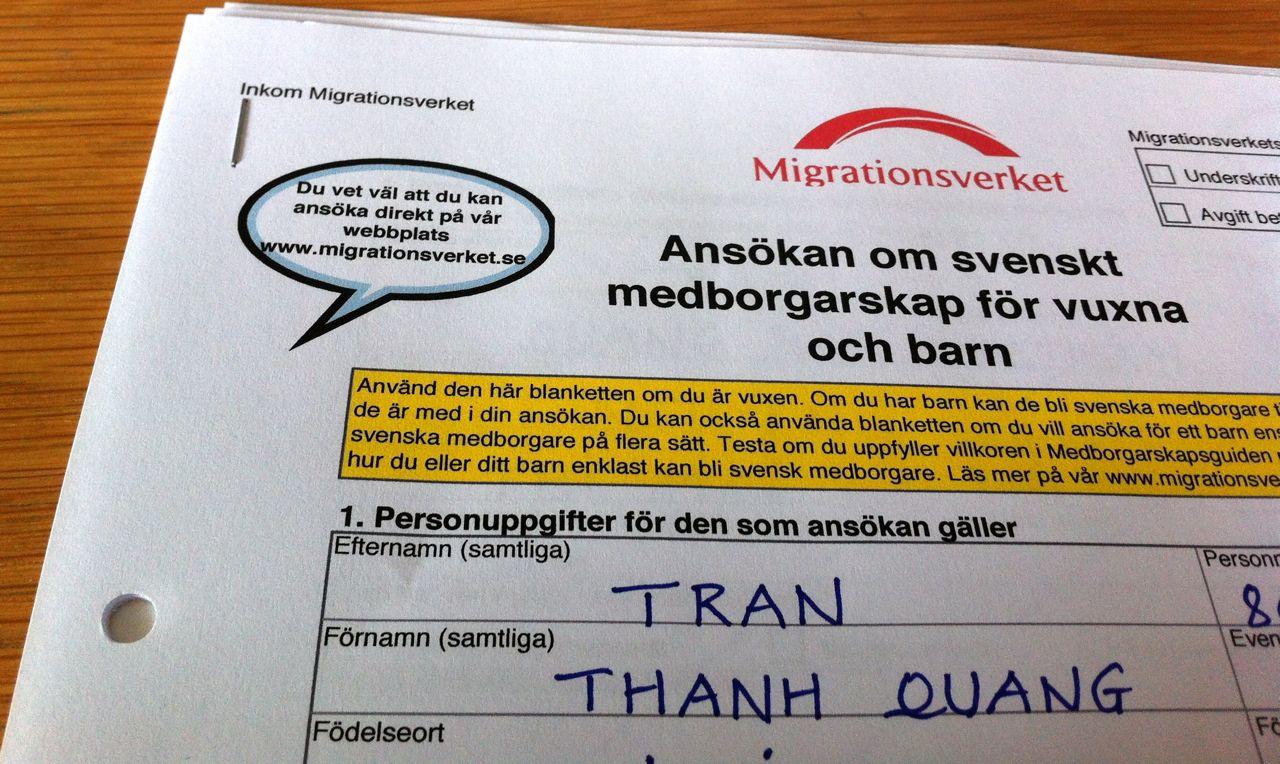 när kan man bli svensk medborgare