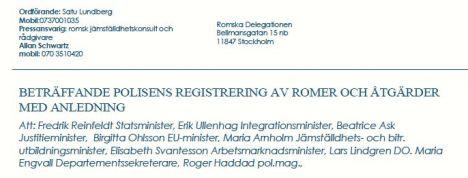 Romer om registrering 2