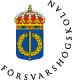 Försvarshögskolan logo