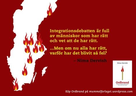 Ur Nima Dervishs brinnande bok Ordbrand nr 2
