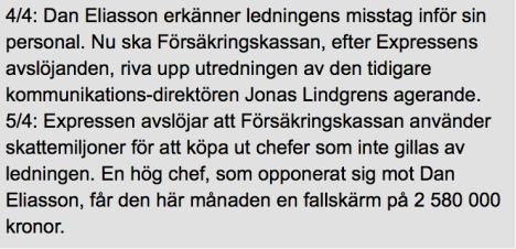 Expressen om FK-härvan 3-5.4 2014