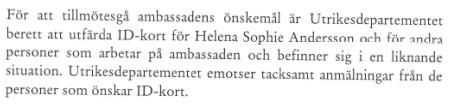 Från UD till Finlands ambassad 26.5 2014