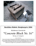 Concrete block nr 16