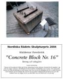Concrete block nr 16