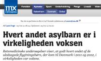 Danmark vartannat asylbarn vuxet