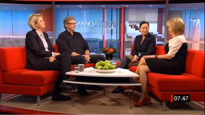 Panelen i Gomorron Sverige 14.11 2014