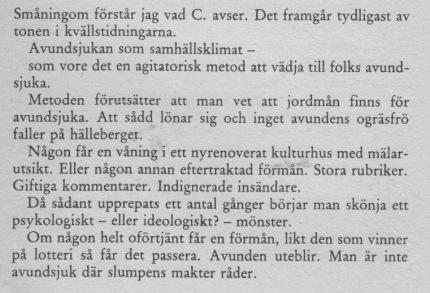 Drabbad av Sverige 2