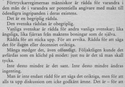 Drabbad av Sverige 4