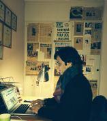 Nuri på mitt kontor