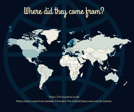 Where did they come from blog