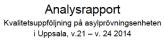 Analysrapport Uppsala v21-v24 2014