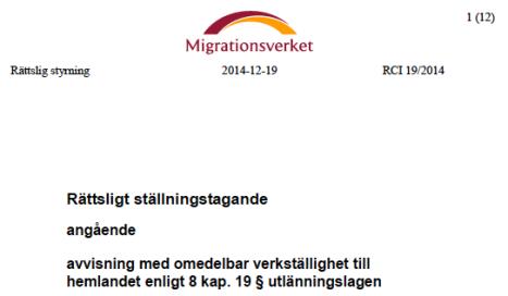 RCI 19:2014 skärmdump
