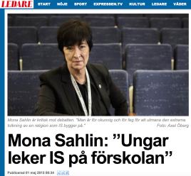 Mona Sahlin 1 maj