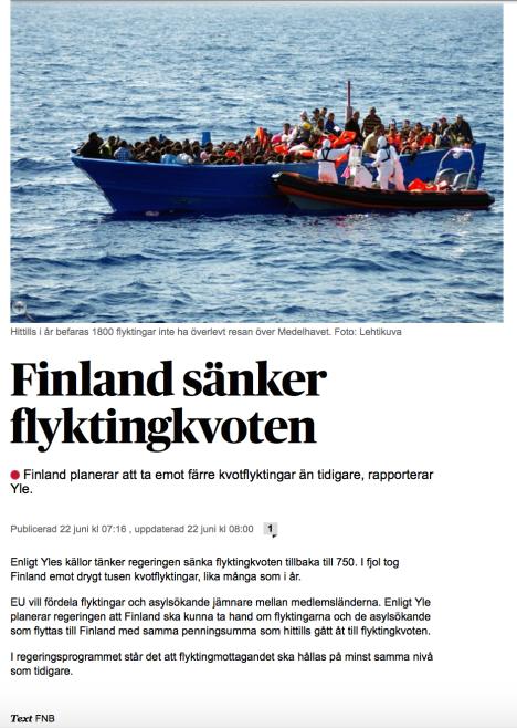 Vasabladet 22 juni 2015