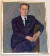 Porträtt av Dag Hammarskjöld Riddarhuset 28 juli 2015