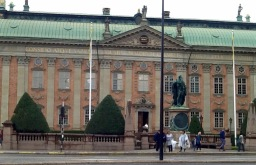Riddarhuset exteriör 28 juli 2015