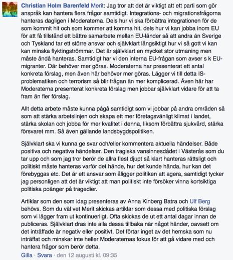 Chistian Holm Barenfeld 12.8 2015