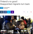 AFP Finland's not so good