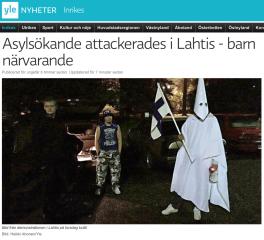 Asylsökande attackerades i Lahtis