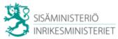 Sisäministeriö logo