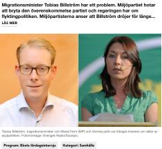Ekots lördagsintervju 2.12 2012 m Billström