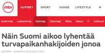 Näin Suomi aikoo lyhentää 30.10 2015 MTV