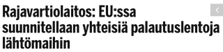 Rajavartiolaitos EUssa suunnitellaan IS 16.10 2015