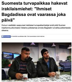 Suomesta turvapaikkaa hakevat Yle 20.10 2015