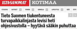 Tieto Suomen tiukentuneesta