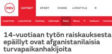 14-vuotiaan tytön raiskauksesta MTV Uutiset 24.11 2015