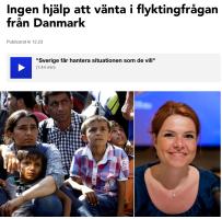 Ingen hjälp att vänta från Danmark