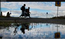 Om asylsök i Siilinjärvi i Washington Post 25.11 2015