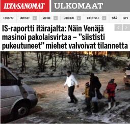 Så här hanterar Ryssland flyktingströmme Ilta-Sanomat 11.11 2015