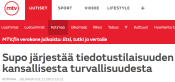 Supo järjestää MTV 2.11 2015