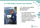Jo 13 000 hakijaa, Suomen linja tiukentuu 8.12 2015
