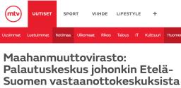 Migri Palautuskeskiukset Etelä-Suomeen Ilta-Sanomat 4.12 2015
