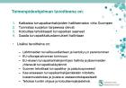 Toimenpideohjelman tavoitteena on 8.12 2015